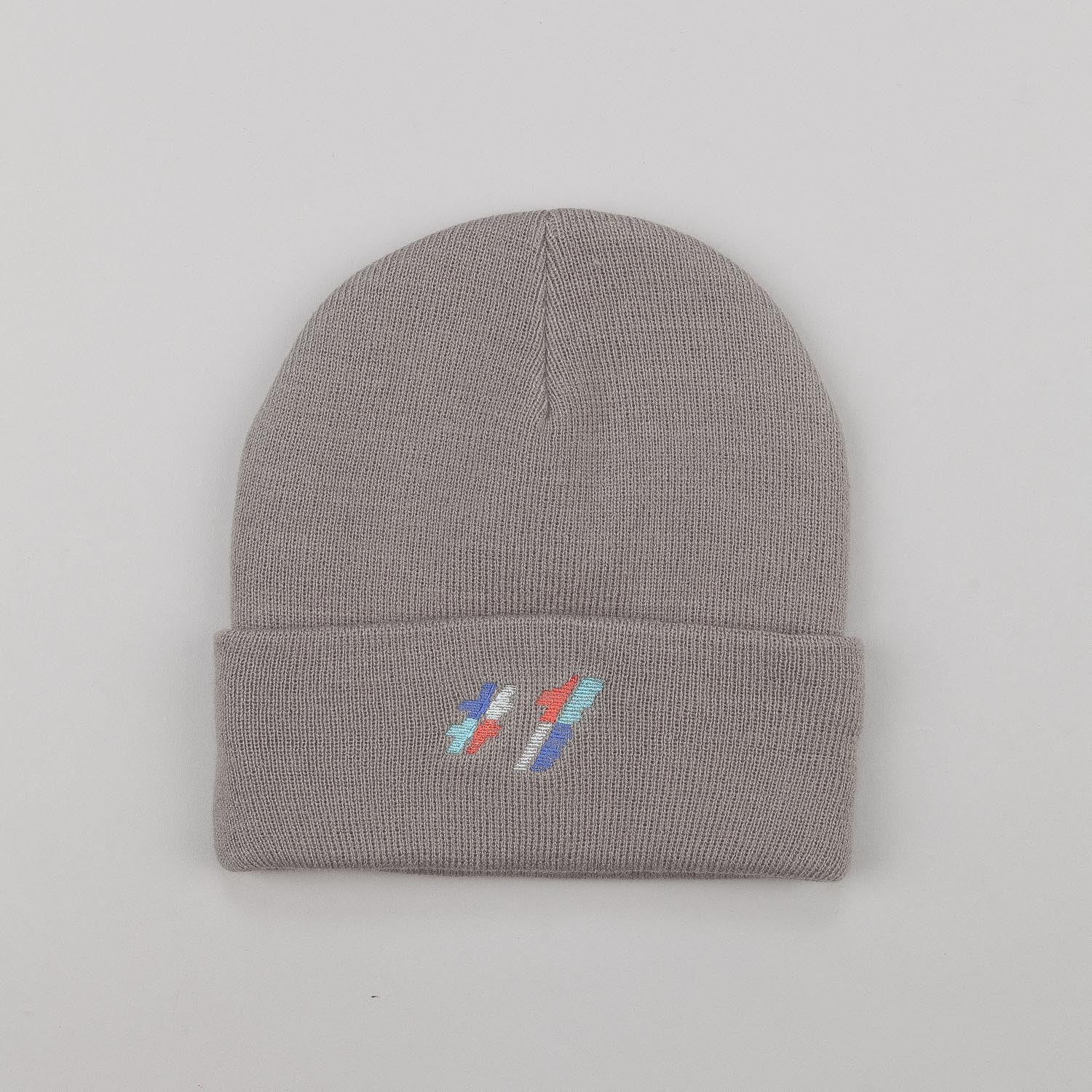 Palace Beanie - One Tooth Grey