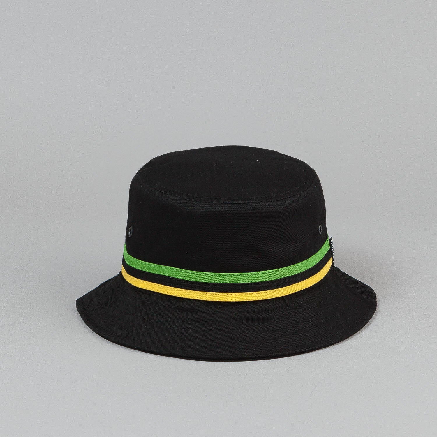 Palace Bucket Hat - Black / Striped Trim