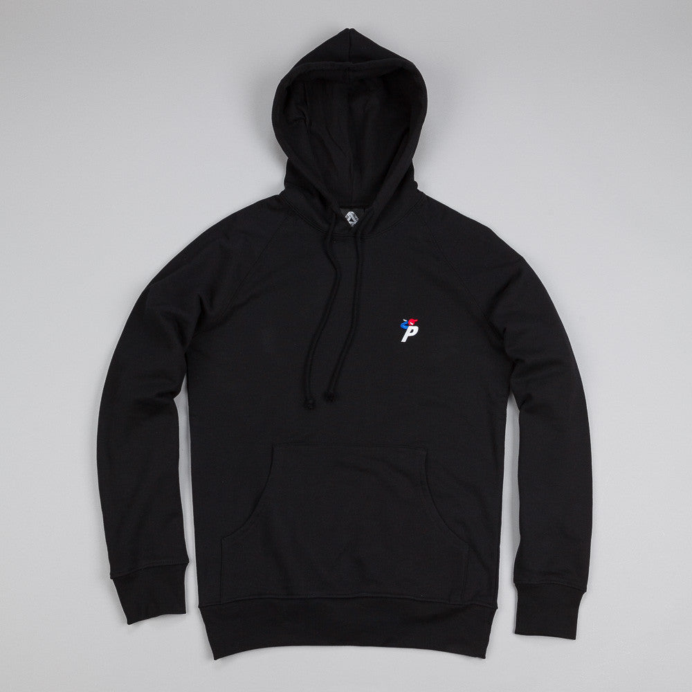 Palace Bunning Man Hooded Sweatshirt Black