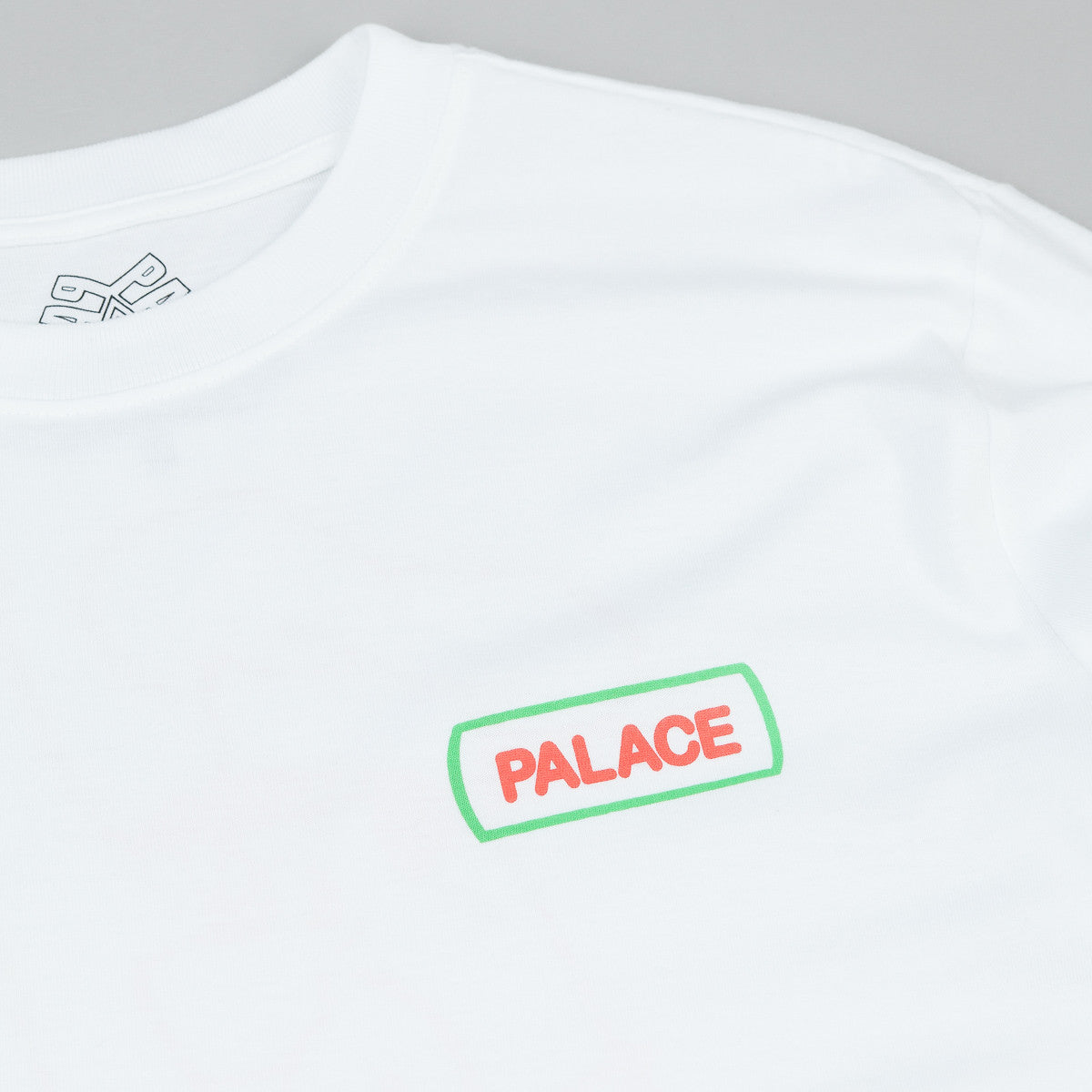 Palace Caveman Long Sleeve T-Shirt - White