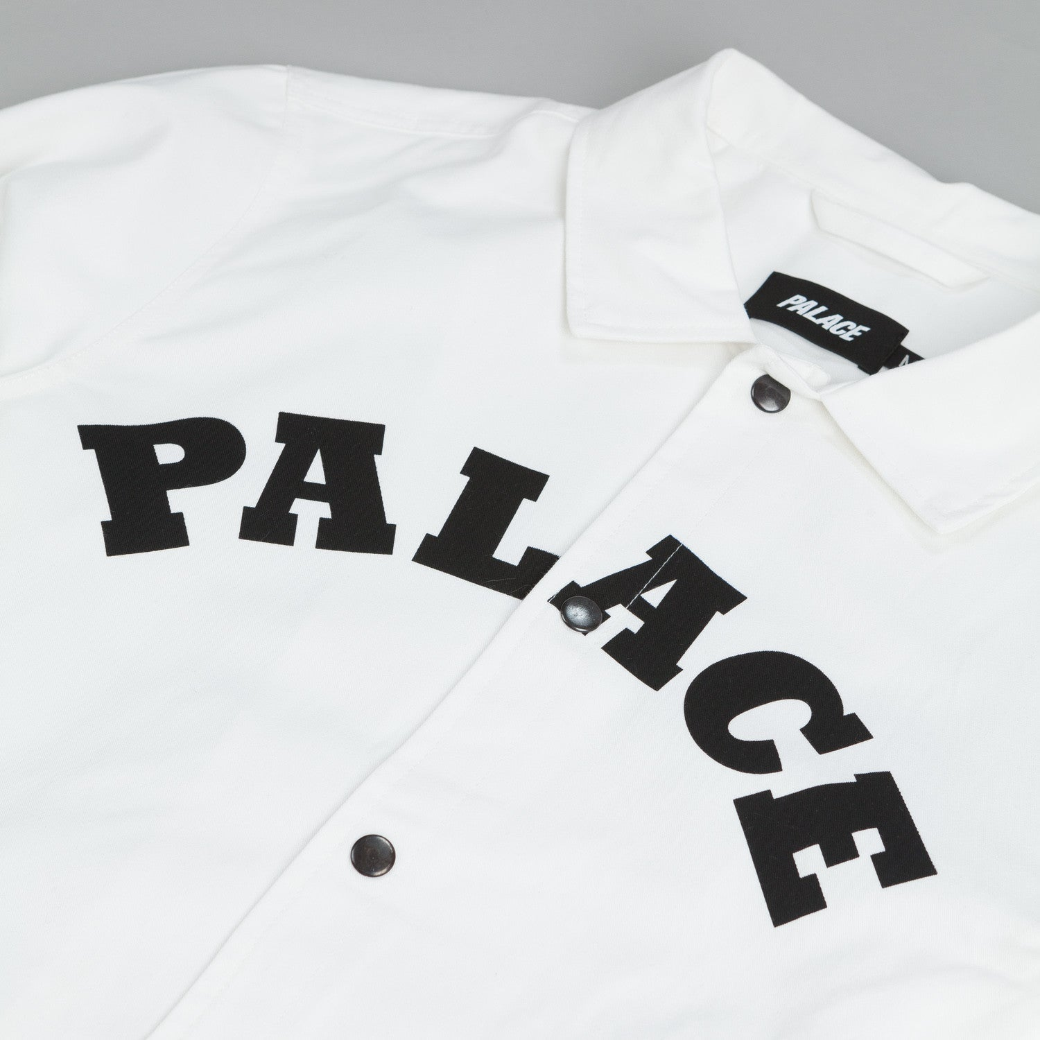 Palace Cotch Jacket Bull Dog White