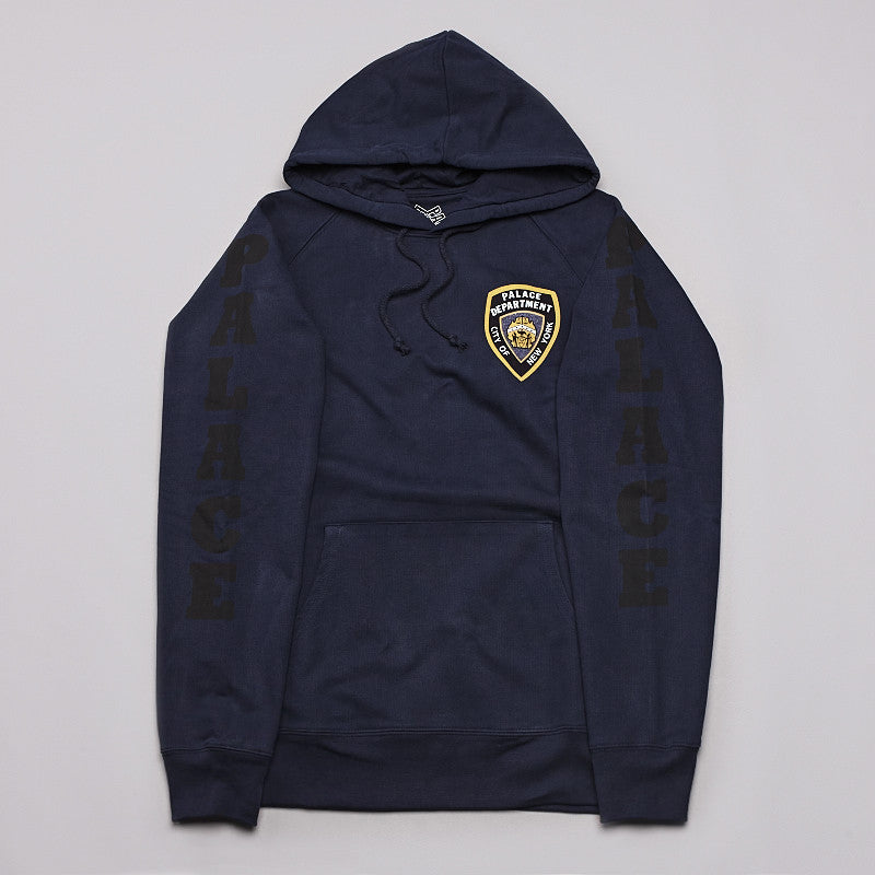 Palace Department Hooded Sweatshirt Navy