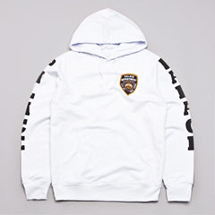 Palace Department Hooded Sweatshirt White