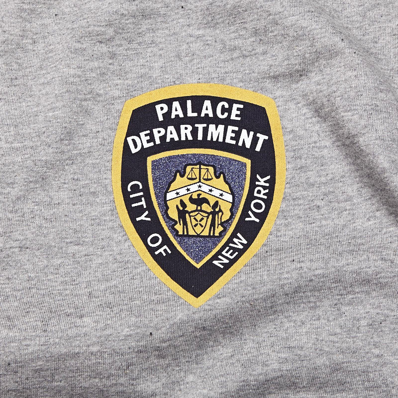 Palace Department T Shirt Grey