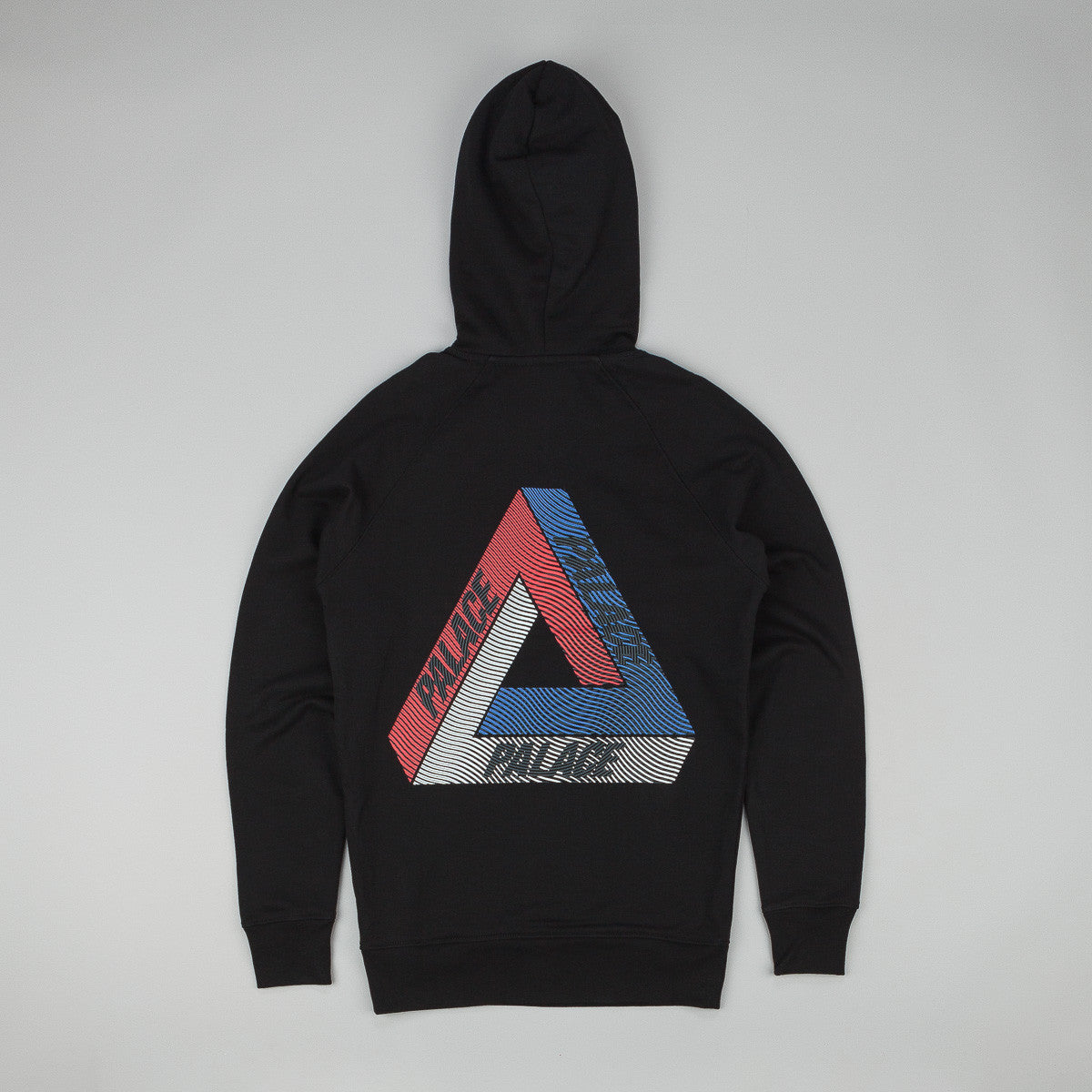 Palace Drury Brit Hooded Sweatshirt - Black