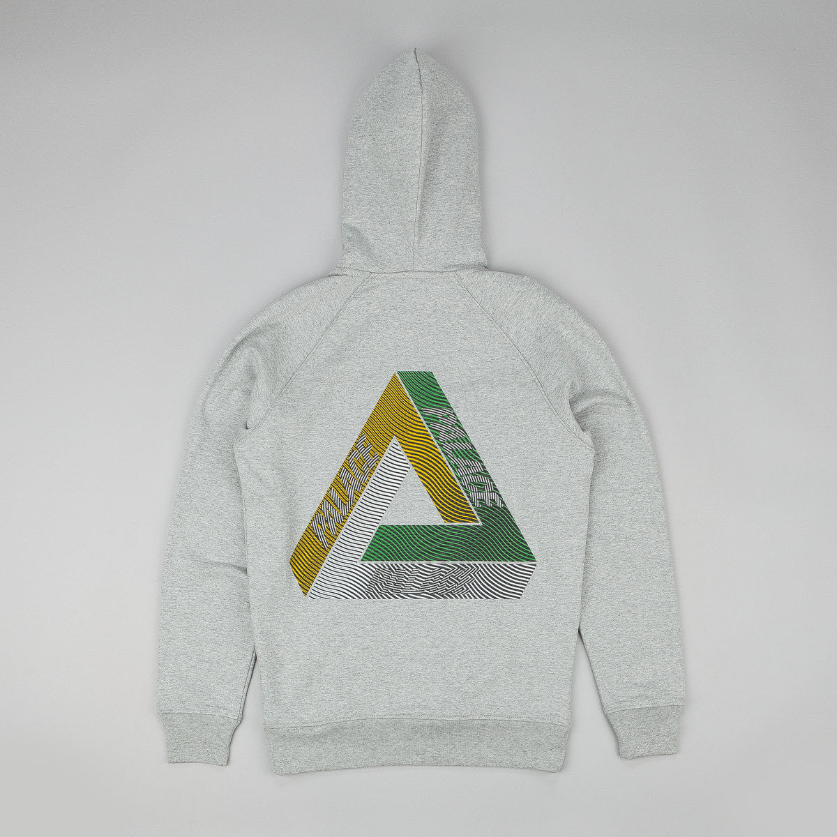 Palace Drury Yard Hooded Sweatshirt - Grey
