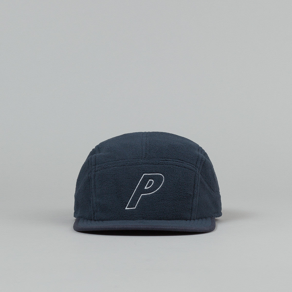 Palace Fleece 7 Panel Cap - Navy