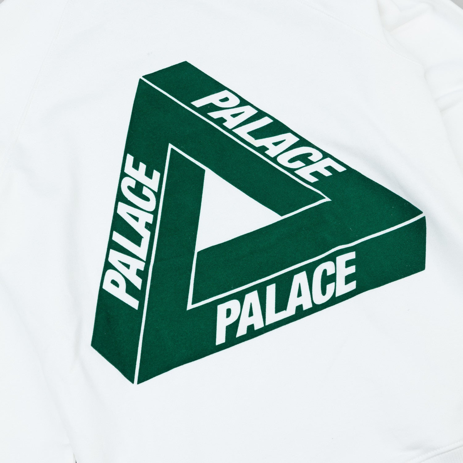 Palace Flocka Hooded Sweatshirt - White
