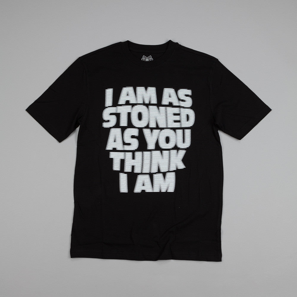 Palace I Am As Stoned T Shirt Black