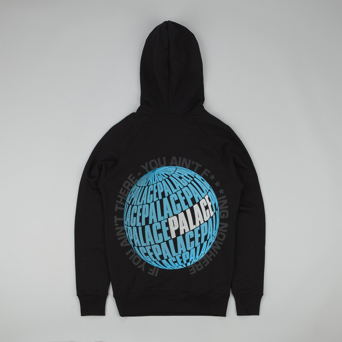 Palace If You Ain't There Hooded Sweatshirt - Black