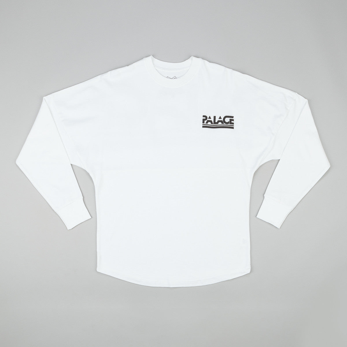 Palace Lightweight Crewneck Sweatshirt - White