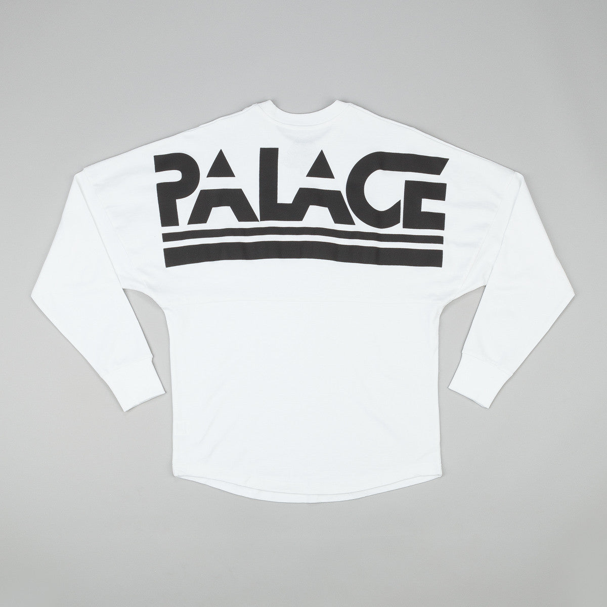 Palace Lightweight Crew Neck Sweatshirt - White