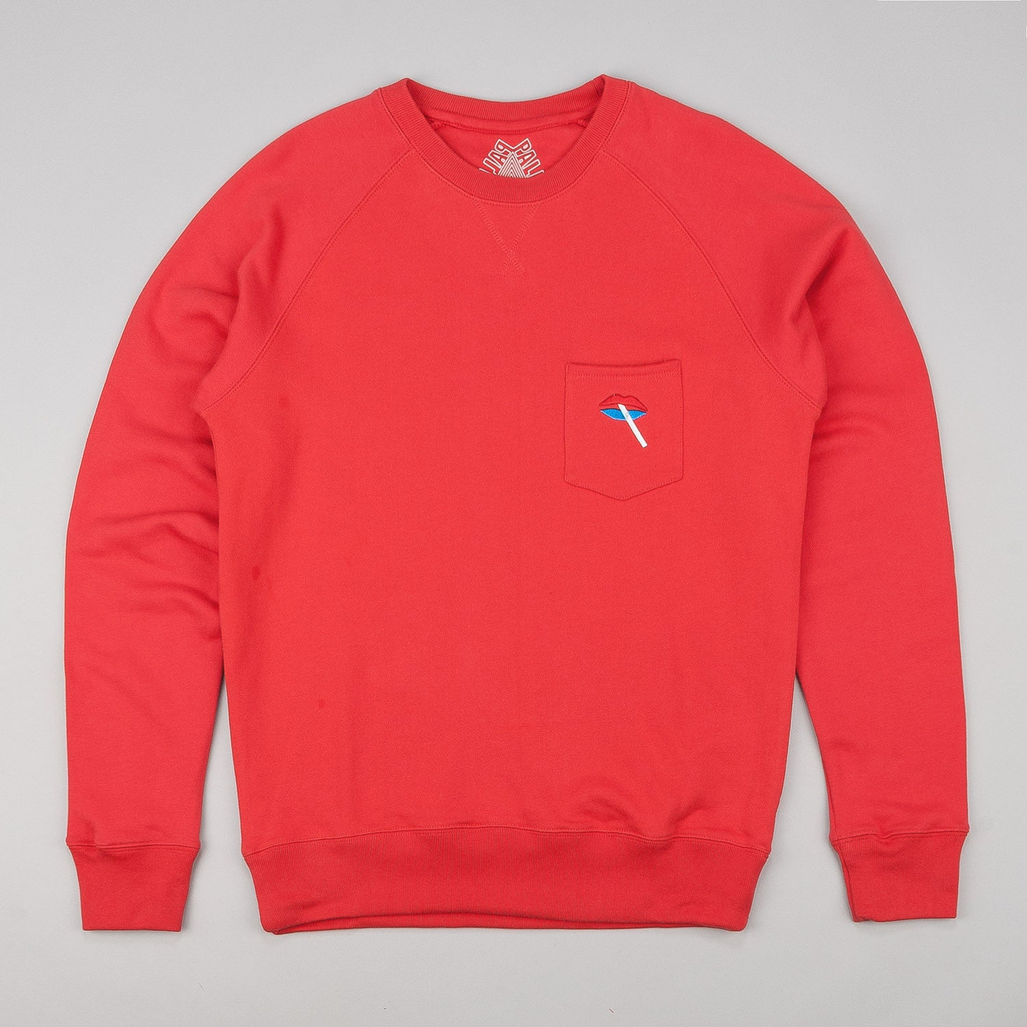 Palace Lips Crew Neck Sweatshirt