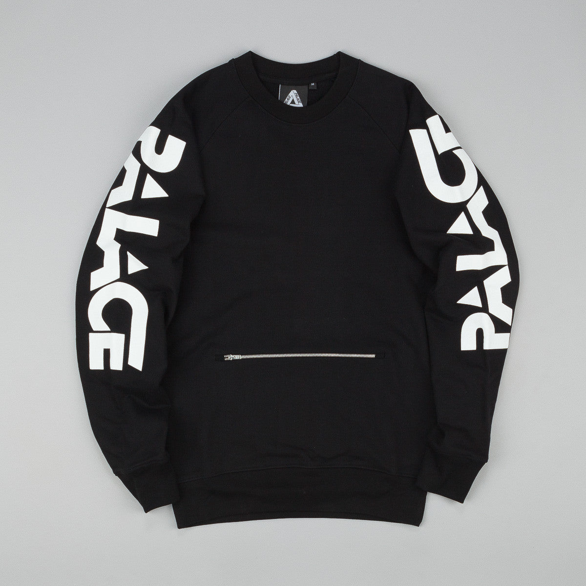 Palace Motor Crew Neck Sweatshirt - Black
