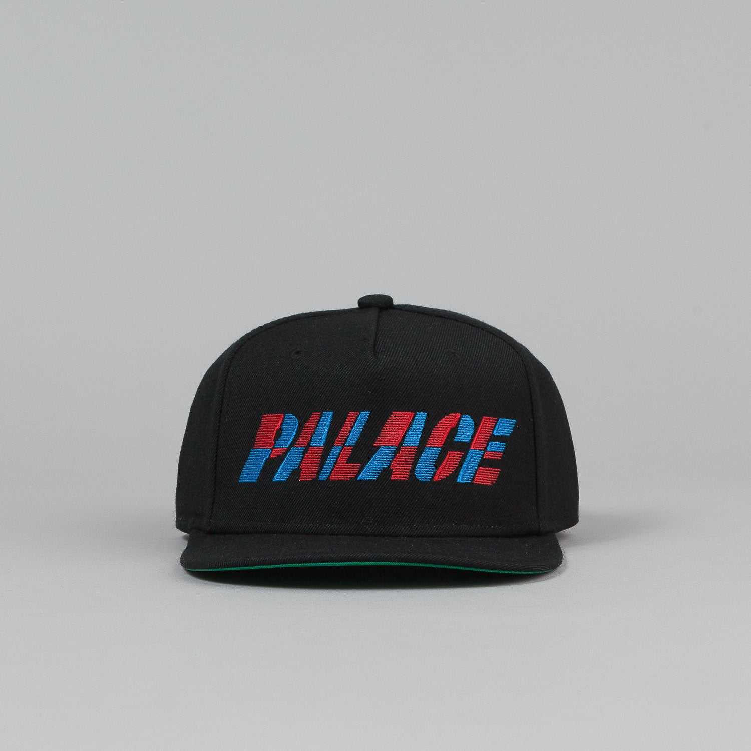 Palace One Tooth Snapback Cap - Black