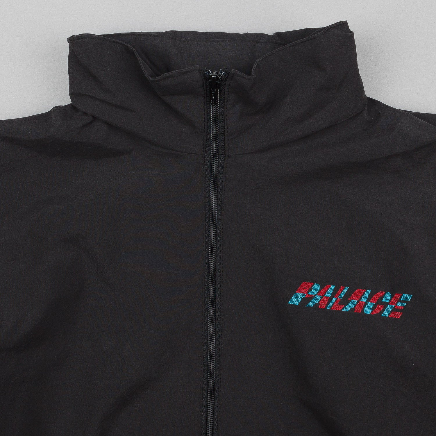 Palace One Tooth Tracksuit Top - Black