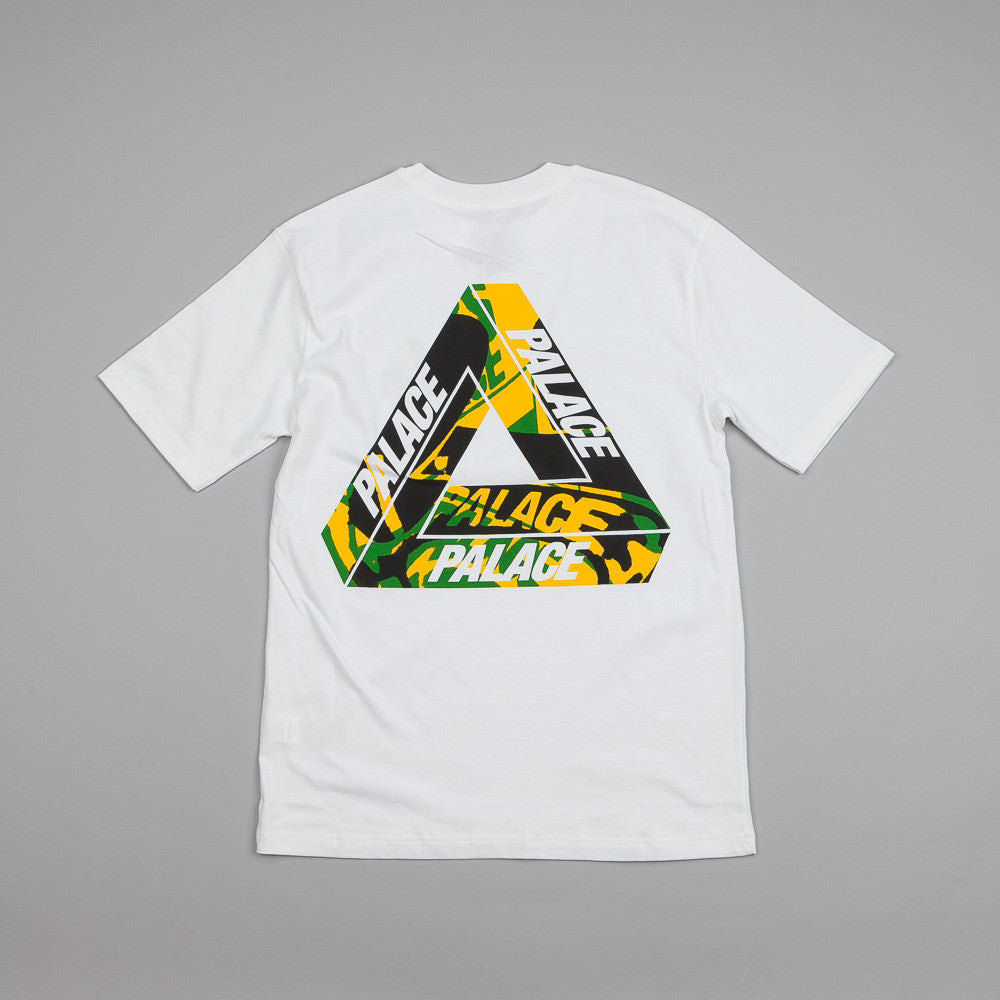 Palace One Wave Yard T Shirt White