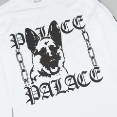 Palace P' Chain Long Sleeve T-Shirt - White