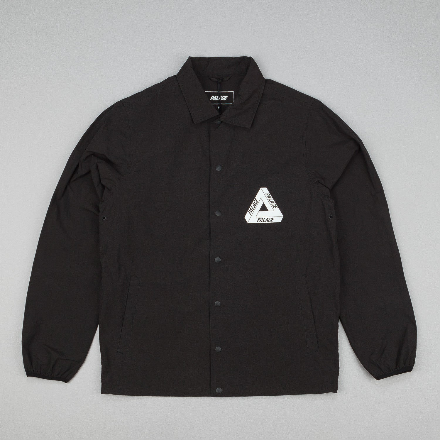Palace P8TCJ001 Tech Coach Jacket - Black