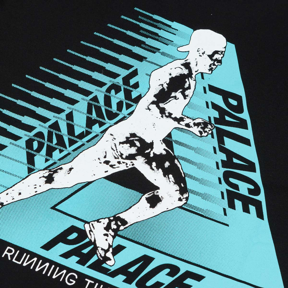 Palace Running Tings T-Shirt - Black