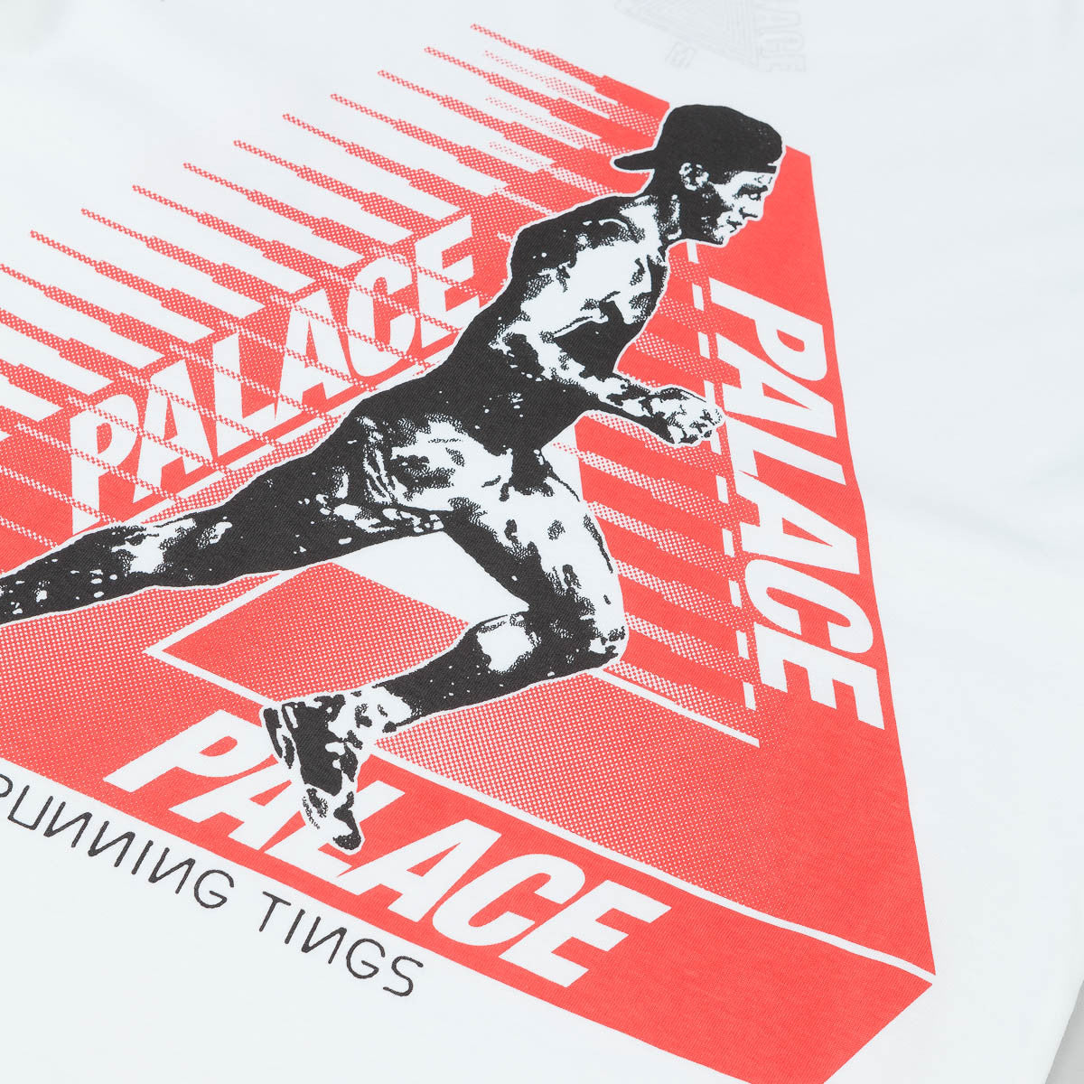 Palace Running Tings T-Shirt - White