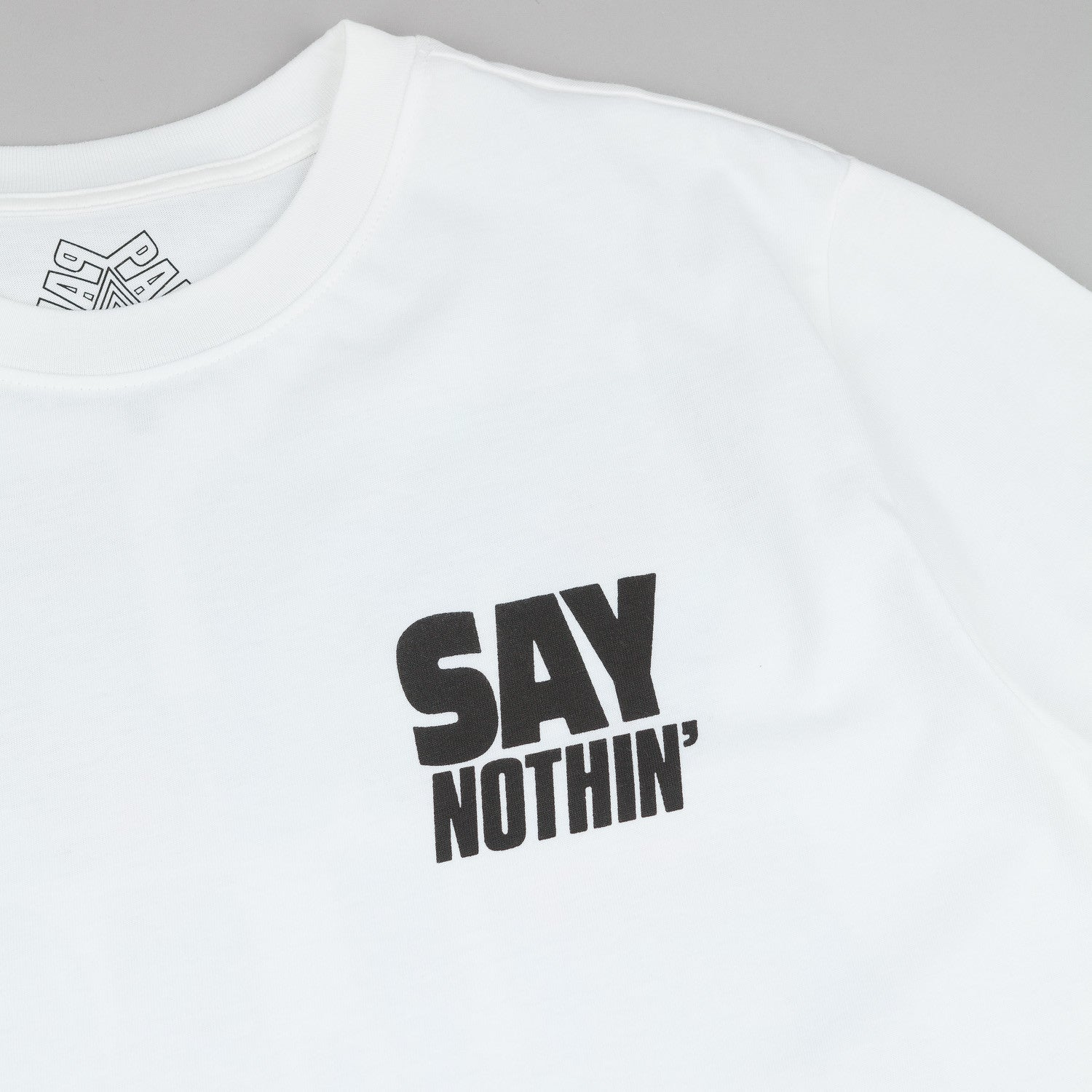 Palace Say Nothin' T-Shirt - White