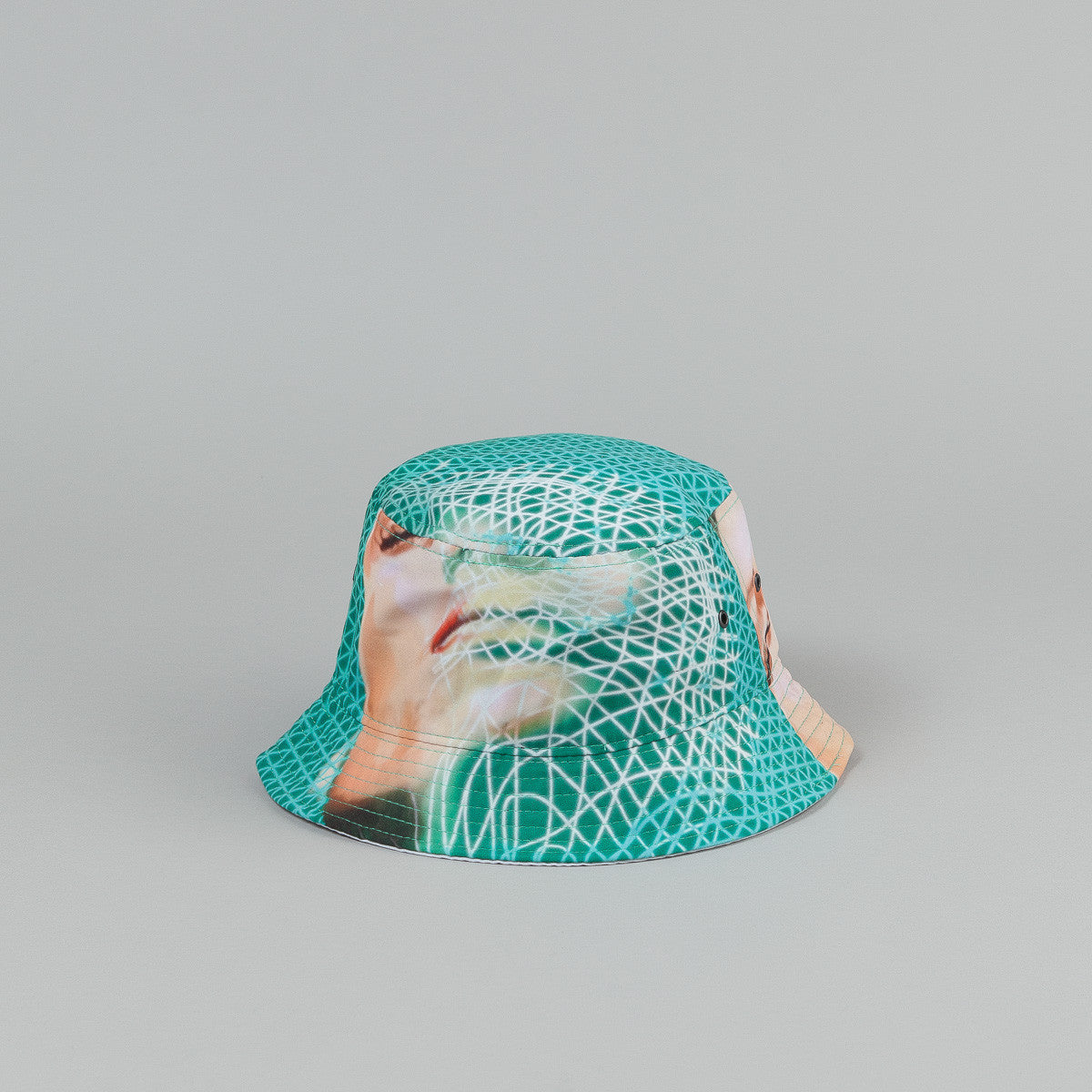 Palace Scape Bucket Hat - Green