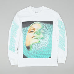 Palace Scape Long Sleeve T-Shirt - White