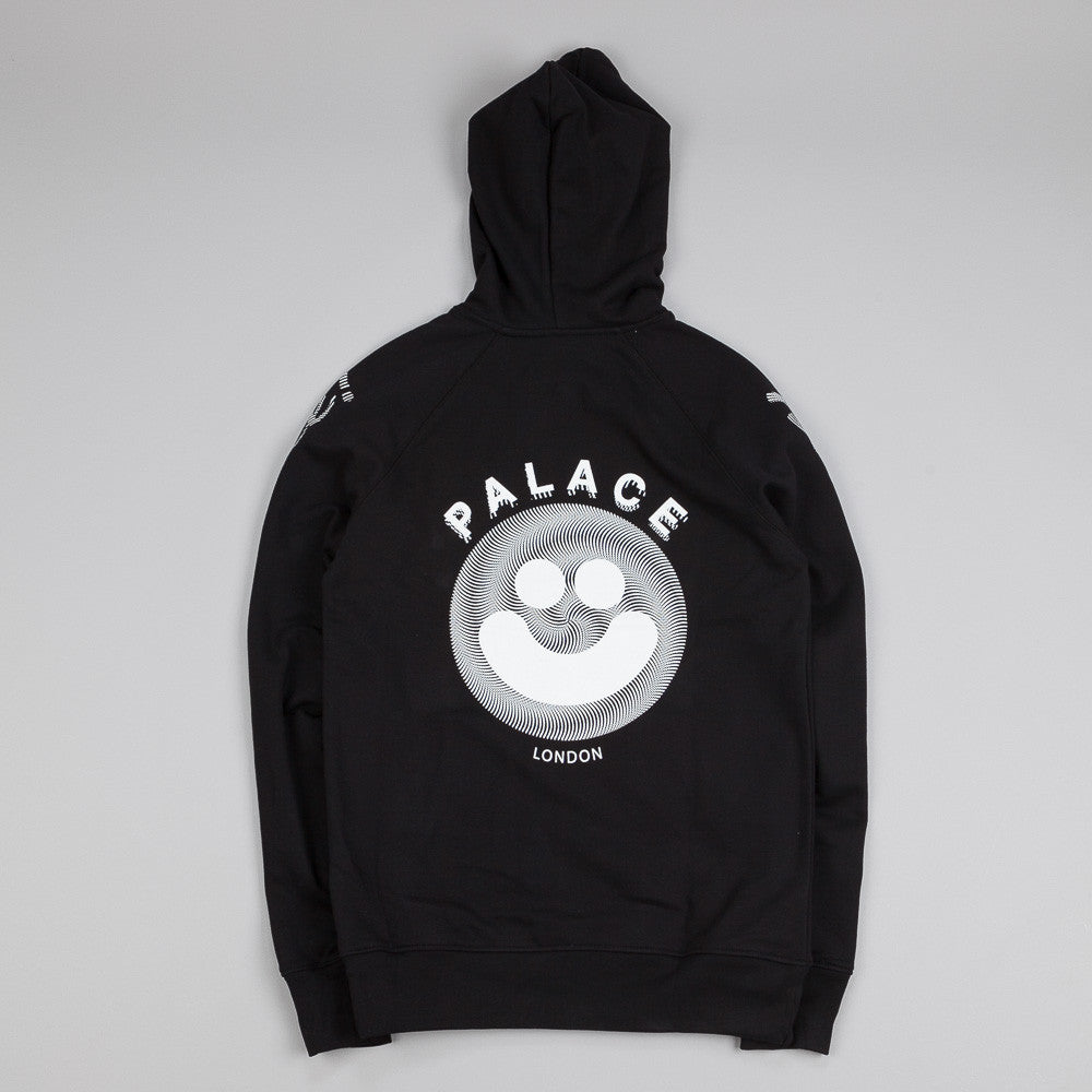 Palace Smiler Hooded Sweatshirt Black