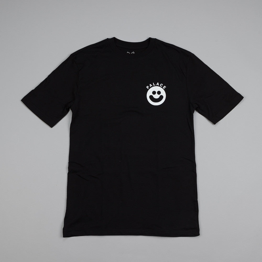 Palace Smiler T Shirt Black