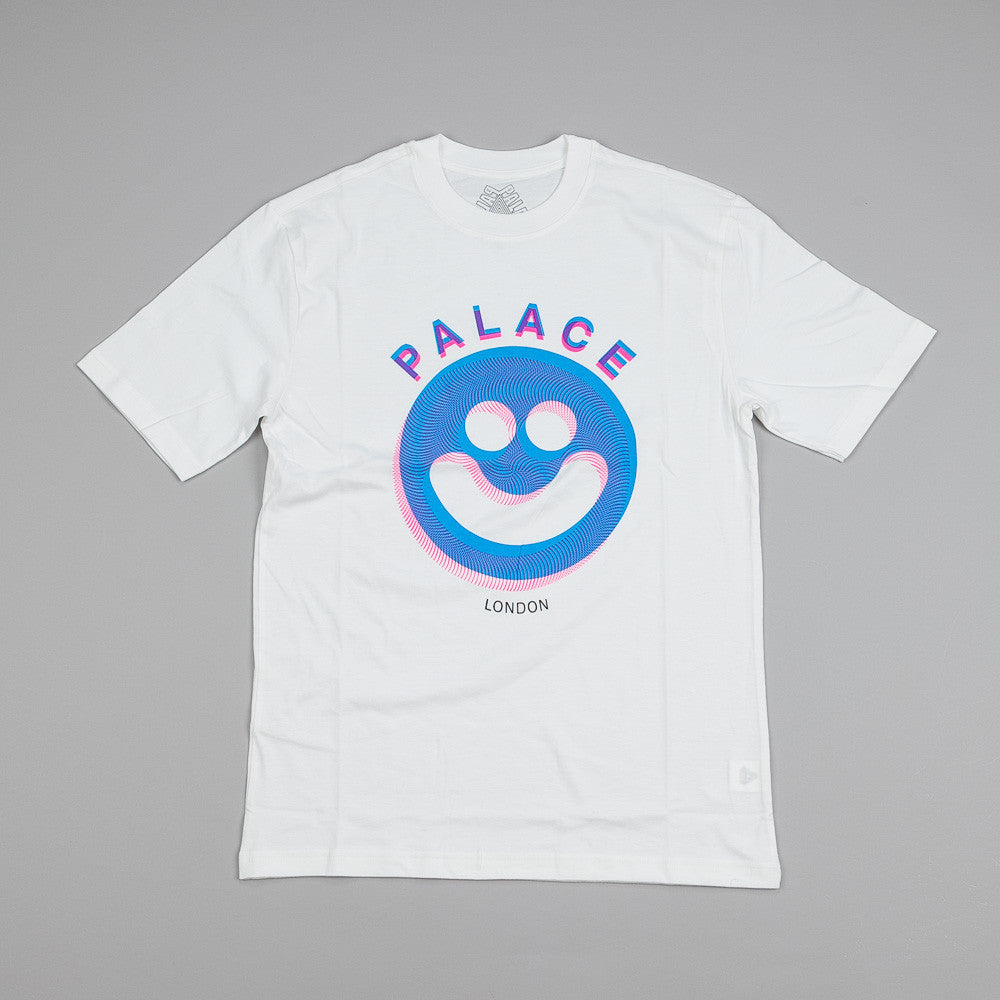 Palace Smiler T Shirt White