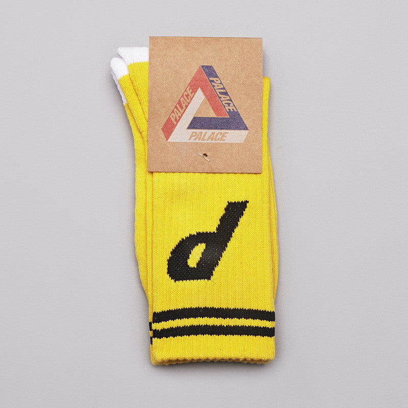 Palace Socks Yellow