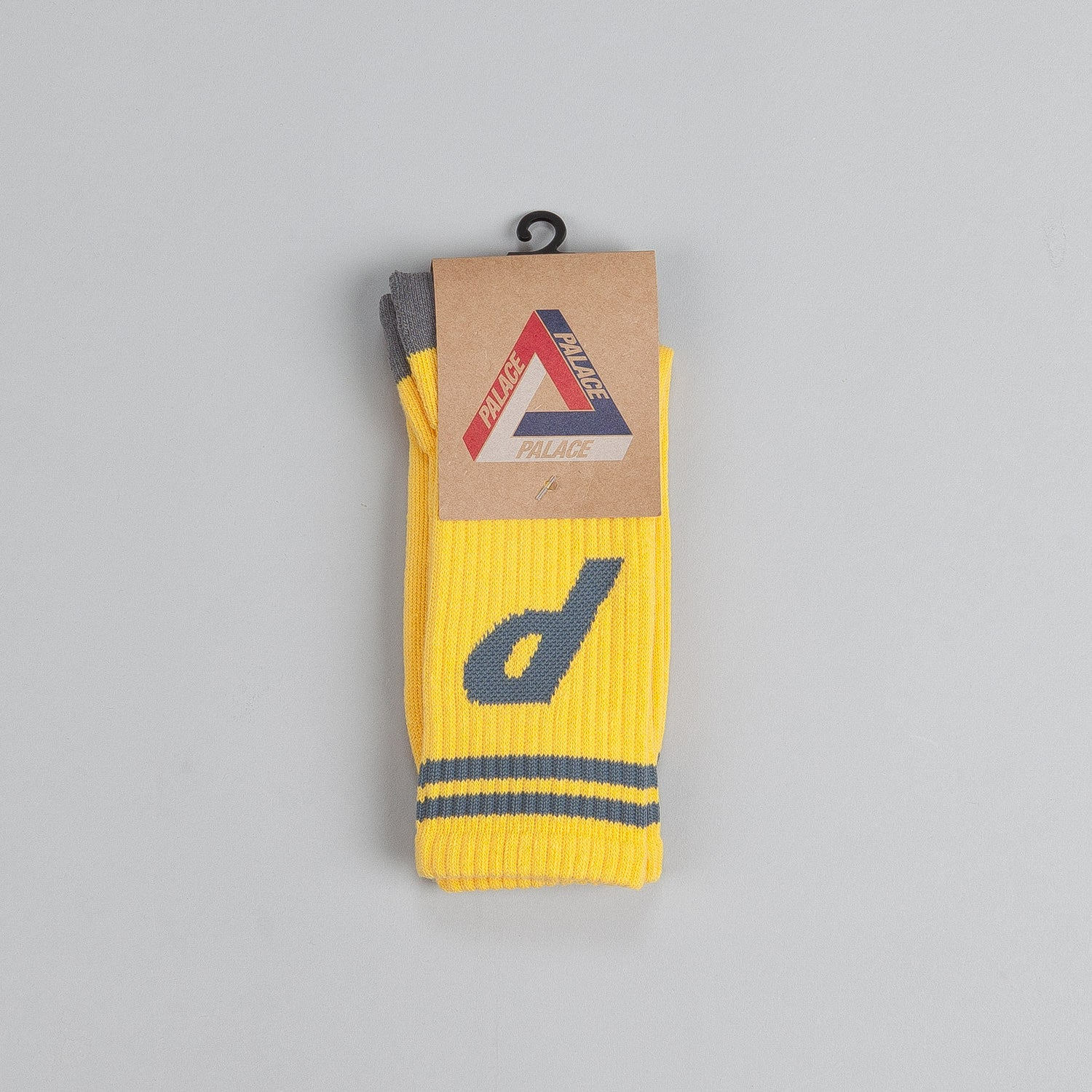 Palace Standard Socks Yellow