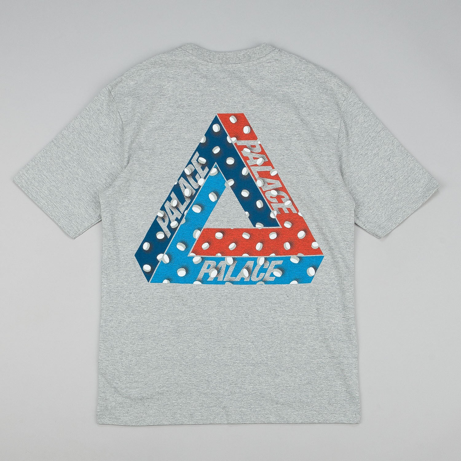Palace Tablet T-Shirt - Grey