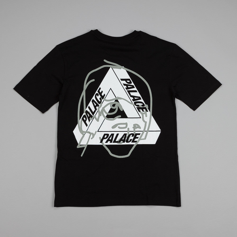 Palace Tri-Ferg Head T Shirt Black