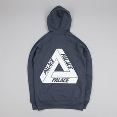 Palace Tri-Ferg Hooded Sweatshirt Coral