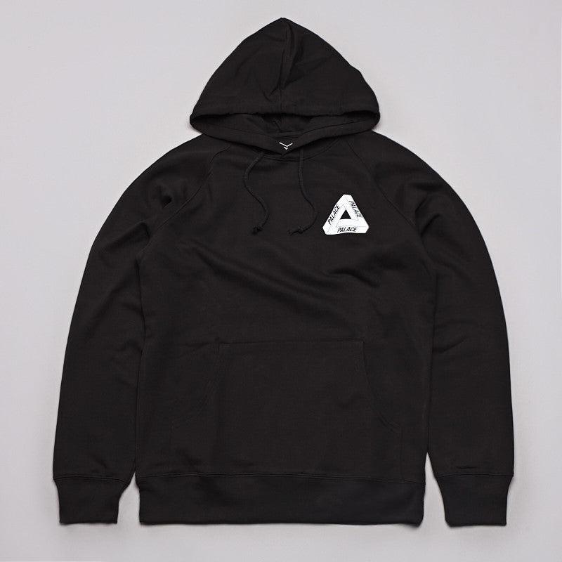 Palace Tri-Line Hooded Sweatshirt Black