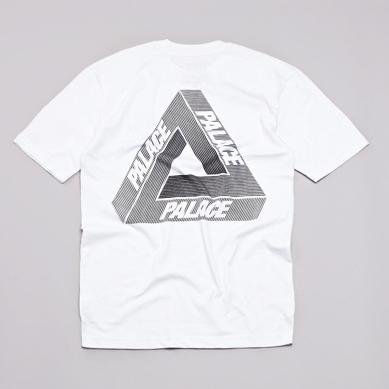 Palace Tri-Line T Shirt White