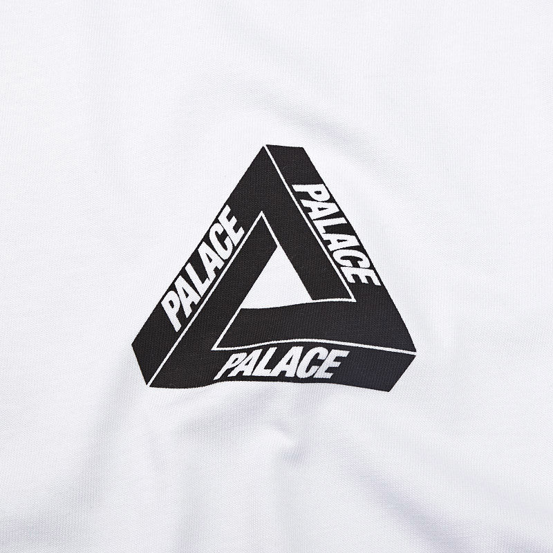 Palace Tri-Line Yard T Shirt White