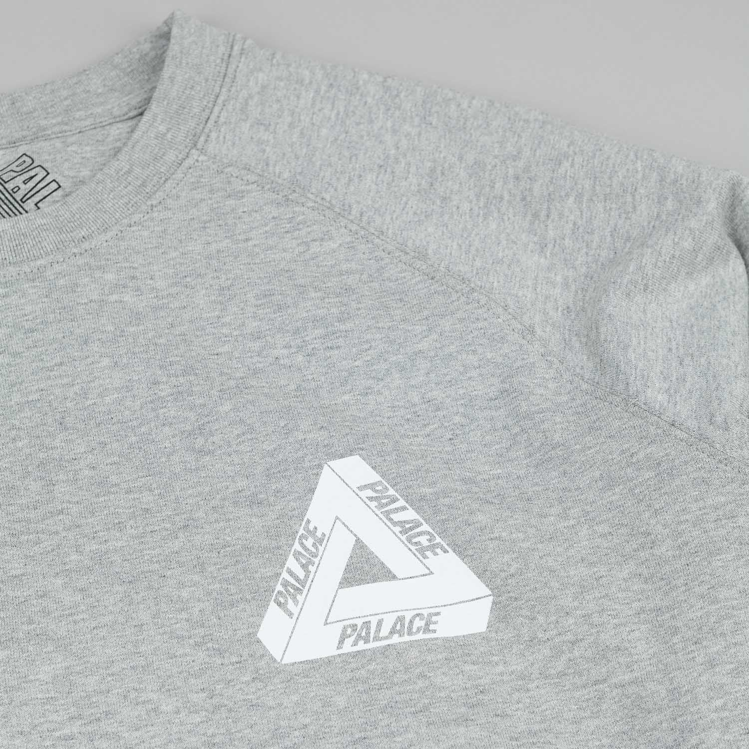Palace Tri-Wild Crew Neck Sweatshirt - Grey
