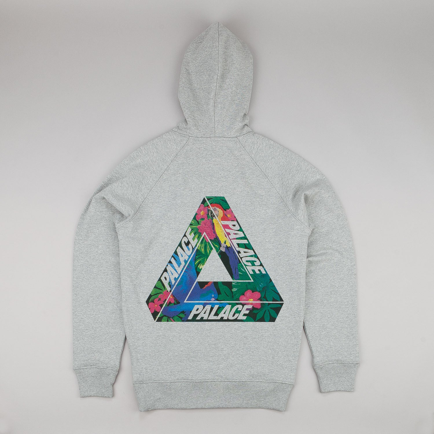 Palace Tri-Wild Hooded Sweatshirt - Grey