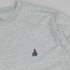 Palace Tropic L/S T-Shirt - Grey