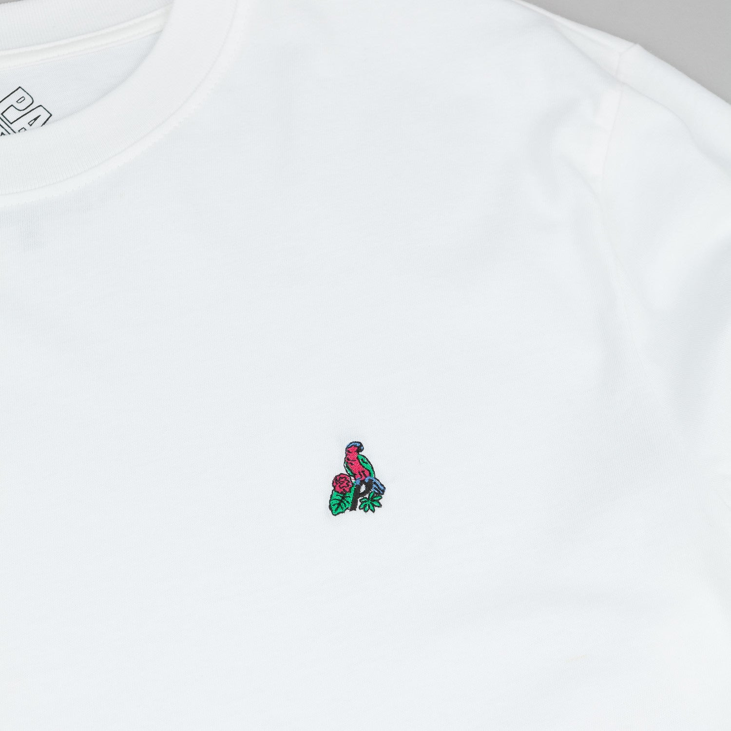 Palace Tropic L/S T-Shirt - White