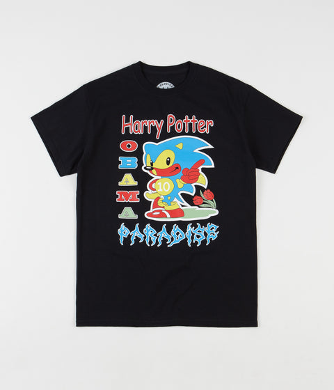 Paradise Harry Potter Obama Paradise T-Shirt - Black