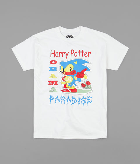 Paradise Harry Potter Obama Paradise T-Shirt - White