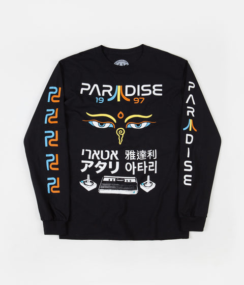 Paradise Mystic Tech Long Sleeve T-Shirt - Black