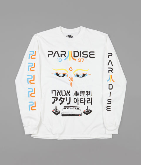 Paradise Mystic Tech Long Sleeve T-Shirt - White