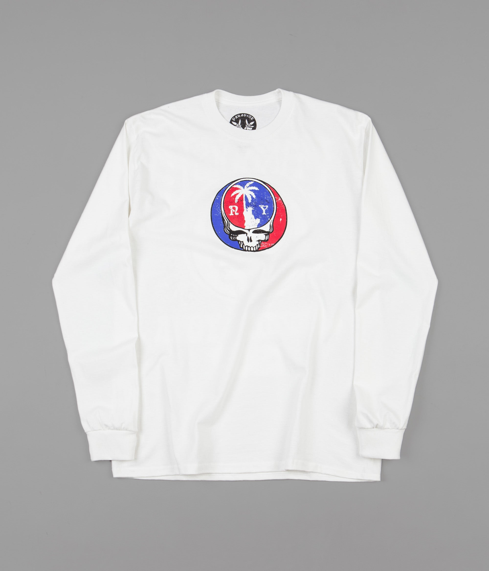Paradise Summer Tour Long Sleeve T-Shirt - White