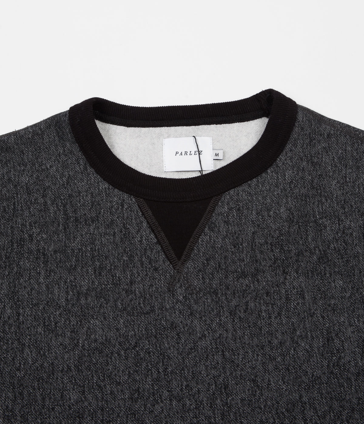 Parlez Albion 16oz Crewneck Sweatshirt - Black Mix