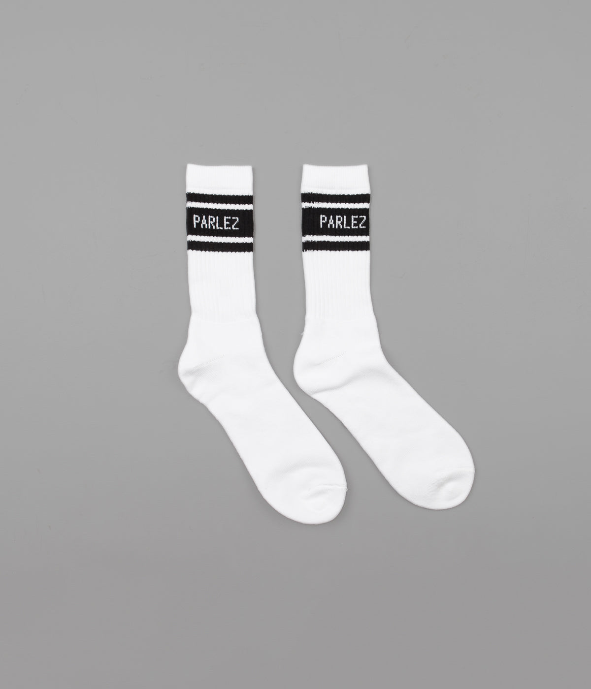Parlez Block Socks - Black